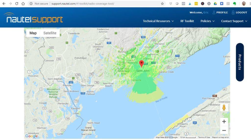 Free web-based tools for predicting FM radio coverage - ERP